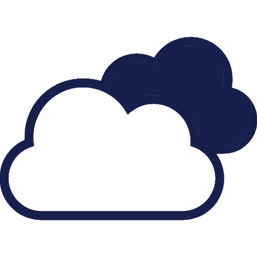 two-clouds-outlined-symbol-of-stroke-for-weather-interface